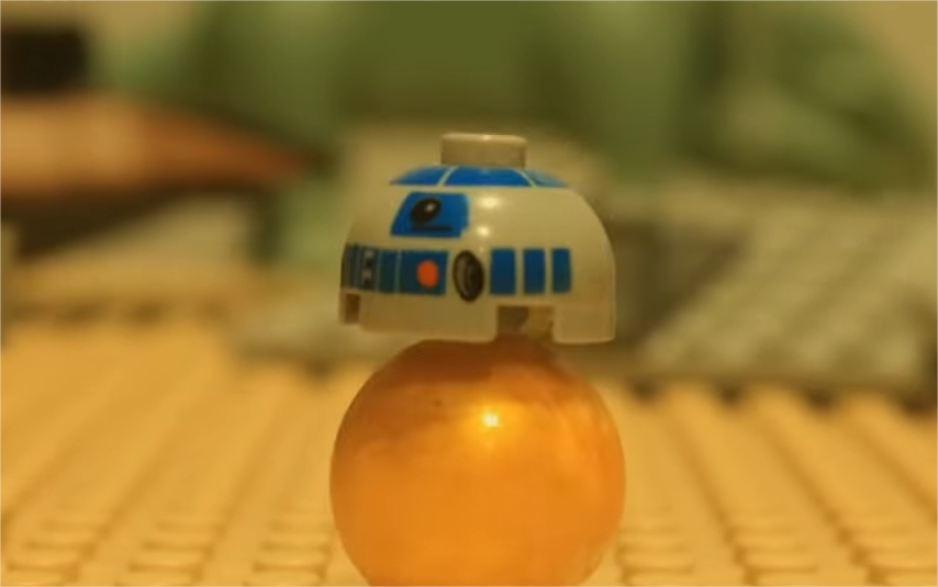 Lego Star Wars Stop Motion Animation